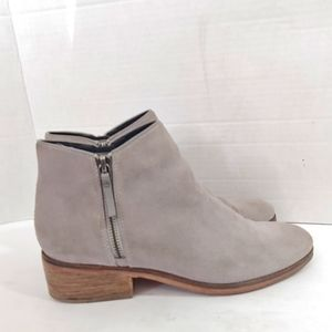 Cole Haan Grand Os suede ankle boots